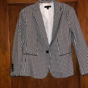 Gingham blazer size 10